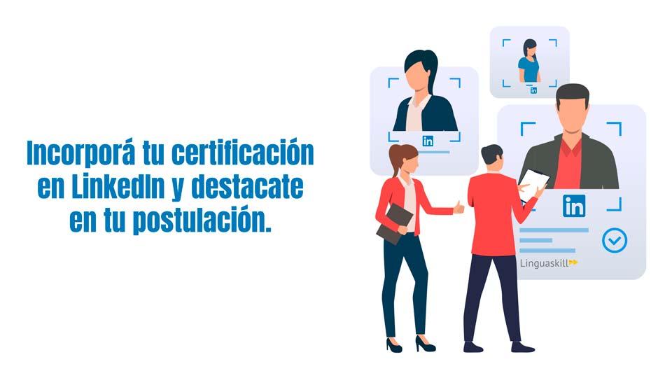Certificación de Ingles para trabajar